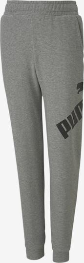 PUMA Broek 'Big Logo' in de kleur Grijs gemêleerd, Productweergave