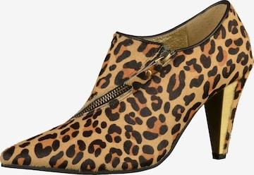 Escarpins à plateforme Lola Ramona en marron