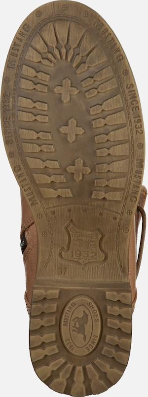 MUSTANG Schnürbooty Verschleißfeste billige Schuhe Hohe Qualität