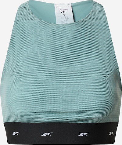 REEBOK Sport-BH  'CBT BRA' in grün / schwarz / weiß, Produktansicht