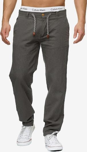 INDICODE JEANS Pantalon 'Veneto' en gris basalte, Vue avec produit