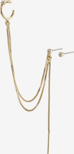 Cercei 'Nima' Pilgrim pe auriu / transparent, Vizualizare produs