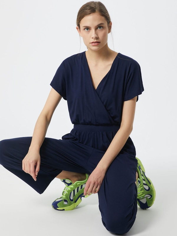 ABOUT YOU Overall 'Pamela' in navy / dunkelblau, Modelansicht