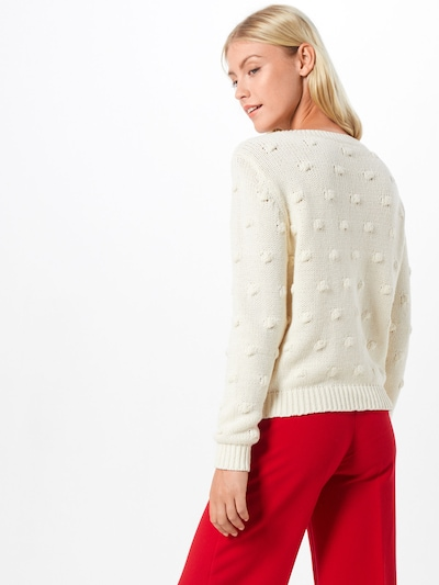 Megztinis 'Ronjo' iš VILA , spalva - kremo: Vaizdas iš galinės pusės