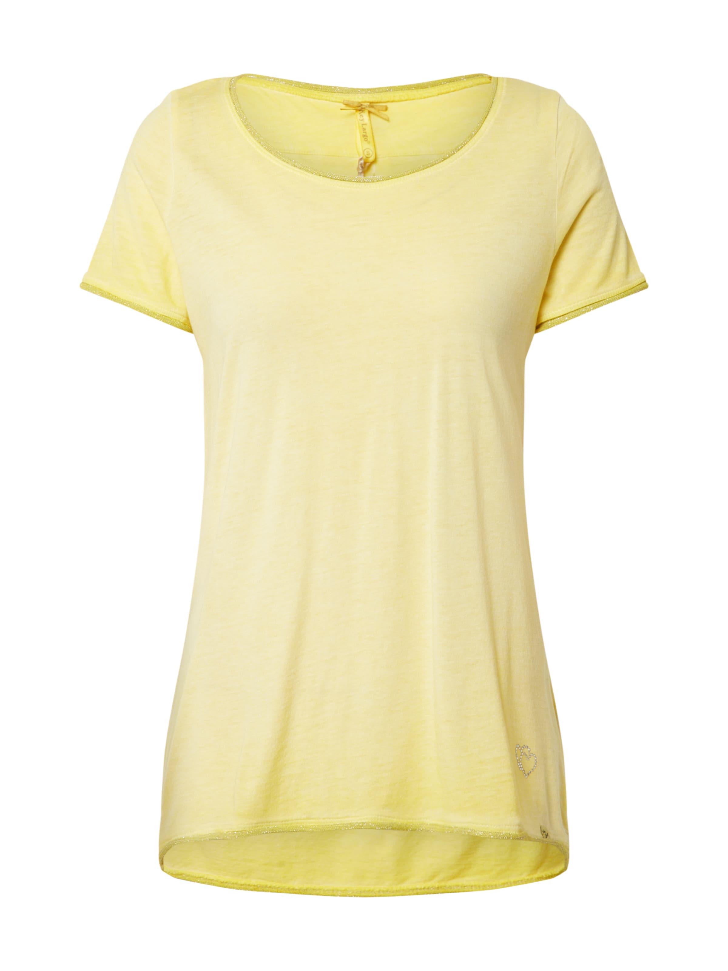 Key Largo Póló 'WT BASE' sárga színben