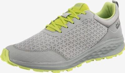 JACK WOLFSKIN Sneaker Low 'Coogee Lite' in neongelb / grau, Produktansicht