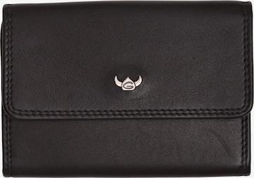 GOLDEN HEAD Schlüsseletui 'Polo' in Schwarz