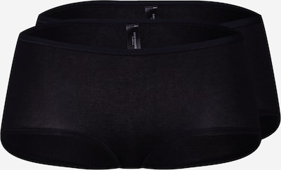 SCHIESSER Panty 'Cotton Essentials' in schwarz, Produktansicht