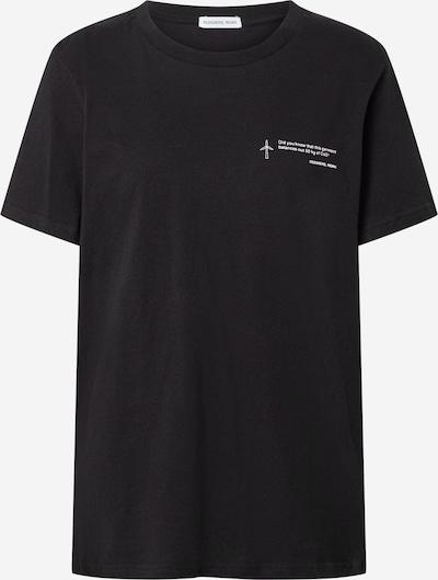 Designers Remix T-shirt 'Stanley CO2' en noir, Vue avec produit