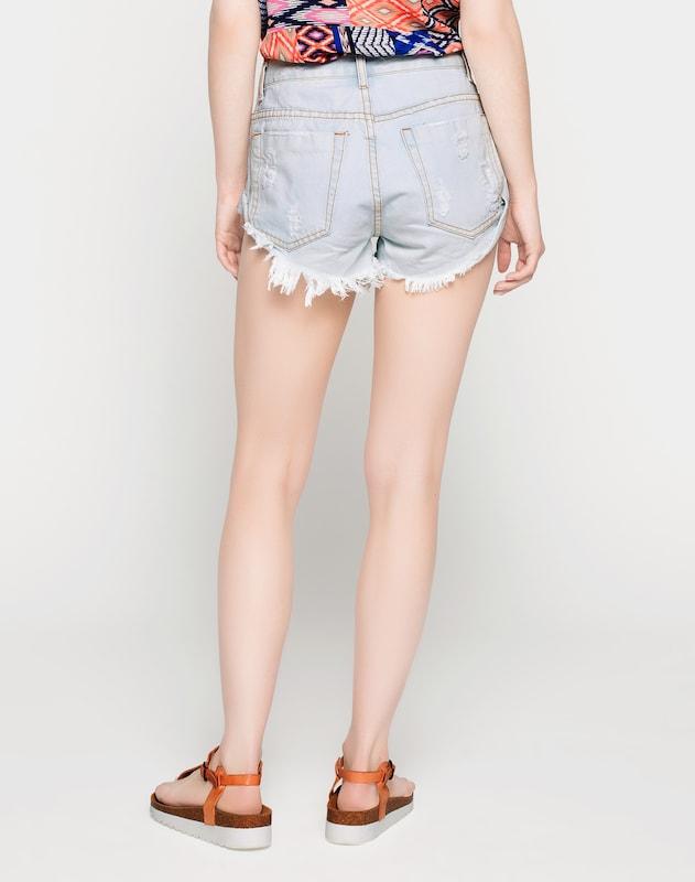 GLAMOROUS 'KA2975' High Waist Denim Shorts