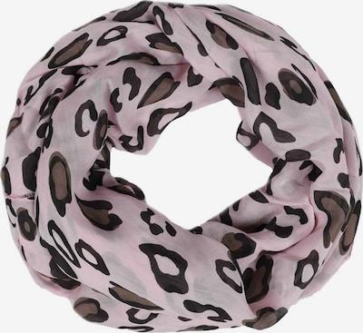 Zwillingsherz Masque en tissu 'Leo' en marron / rose / noir, Vue avec produit