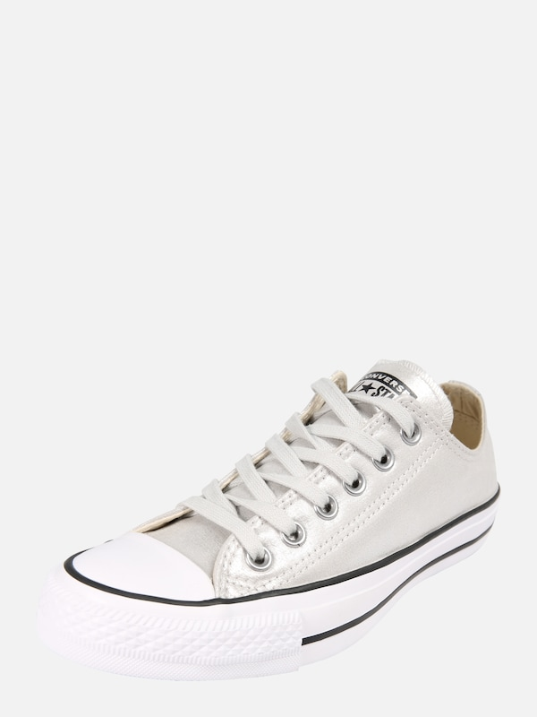 6f743f9a68d CONVERSE Sneakers laag 'Chuck Taylor All Star Ox' in Zilver / Wit | ABOUT  YOU