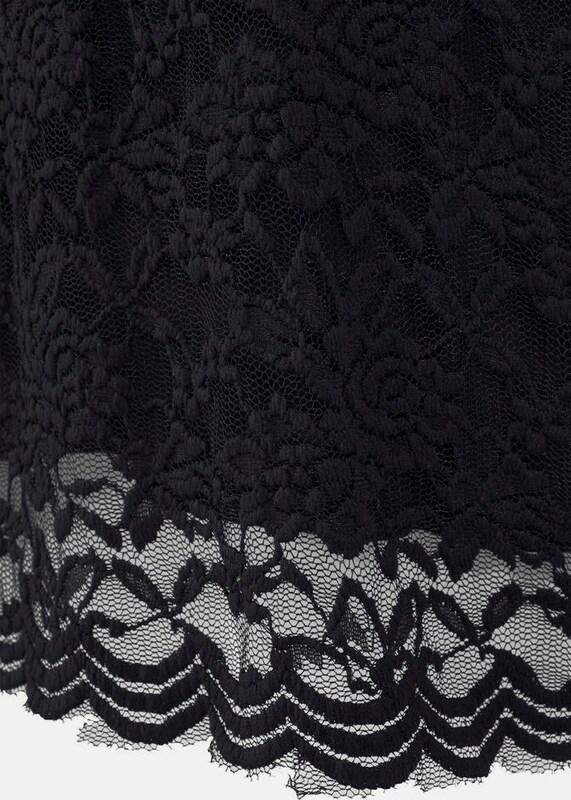 LASCANA Spitzenkleid in schwarz schwarz schwarz  Markenkleidung für Männer und Frauen b92227