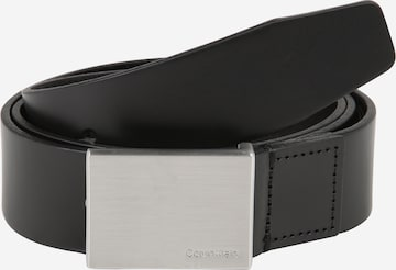 Calvin Klein Belt 'FORMAL PLAQUE' in Black