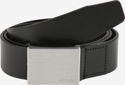 Curea 'FORMAL PLAQUE' Calvin Klein pe negru, Vizualizare produs