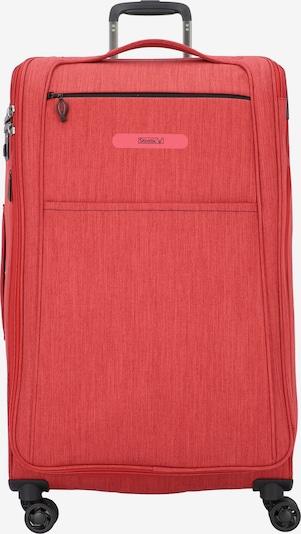 Stratic Floating 4-Rollen Trolley L 80 cm in rot, Produktansicht