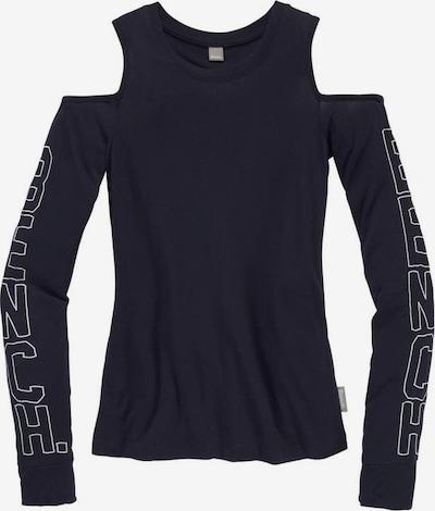 BENCH Shirt in marine / weiß, Produktansicht