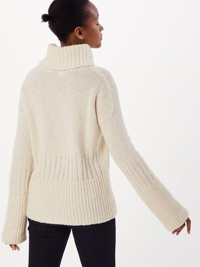 Megztinis 'Wuttema' iš BOSS , spalva - balta: Vaizdas iš galinės pusės