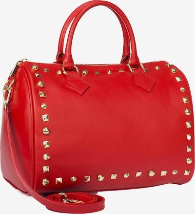 faina Handtas in de kleur Goud / Rood, Productweergave