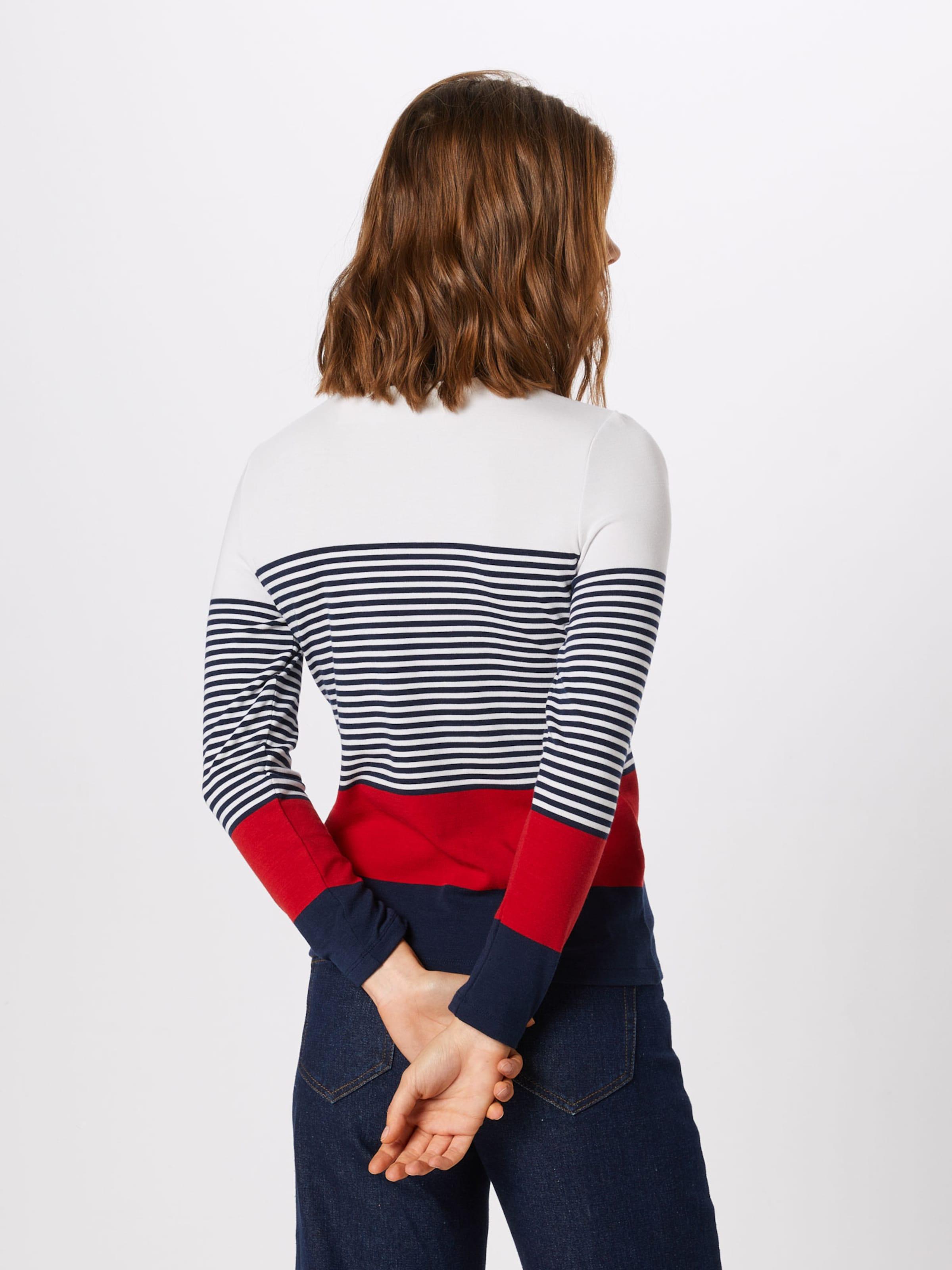 En Esprit shirt CrèmeBleu Rouge Marine T WCxBodre