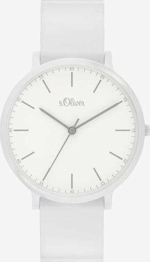 s.Oliver Uhr '3955-PQ' in weiß, Produktansicht