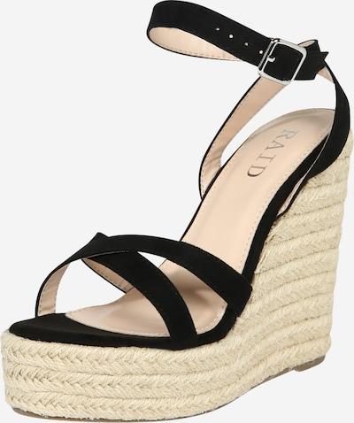 Sandalai 'ELISHA' iš Raid , spalva - smėlio / juoda, Prekių apžvalga