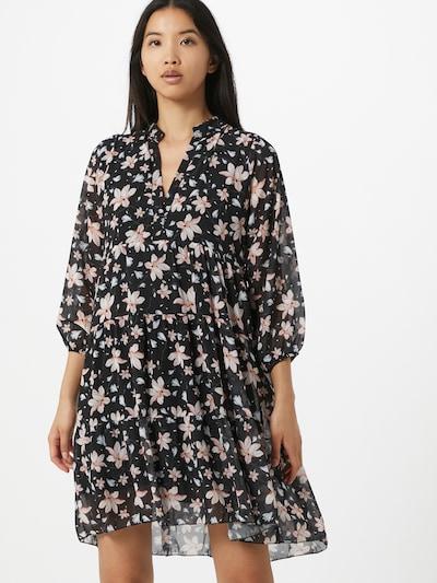 ZABAIONE Kleid 'Rina' in rosa / schwarz, Modelansicht