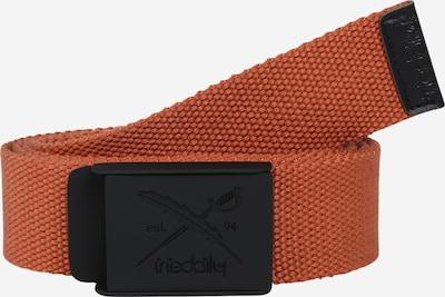 Iriedaily Gürtel in braun / schwarz, Produktansicht