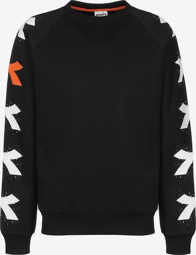 Diadora Sweater ' SWEATSHIRT CREW ONE ' in schwarz / weiß, Produktansicht