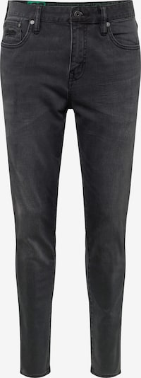 Superdry Jean 'Tyler Slim' en noir denim: Vue de face