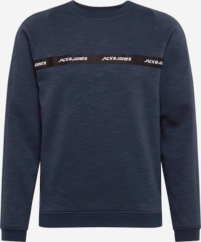 JACK & JONES Sweatshirt 'Train' in navy / schwarz, Produktansicht