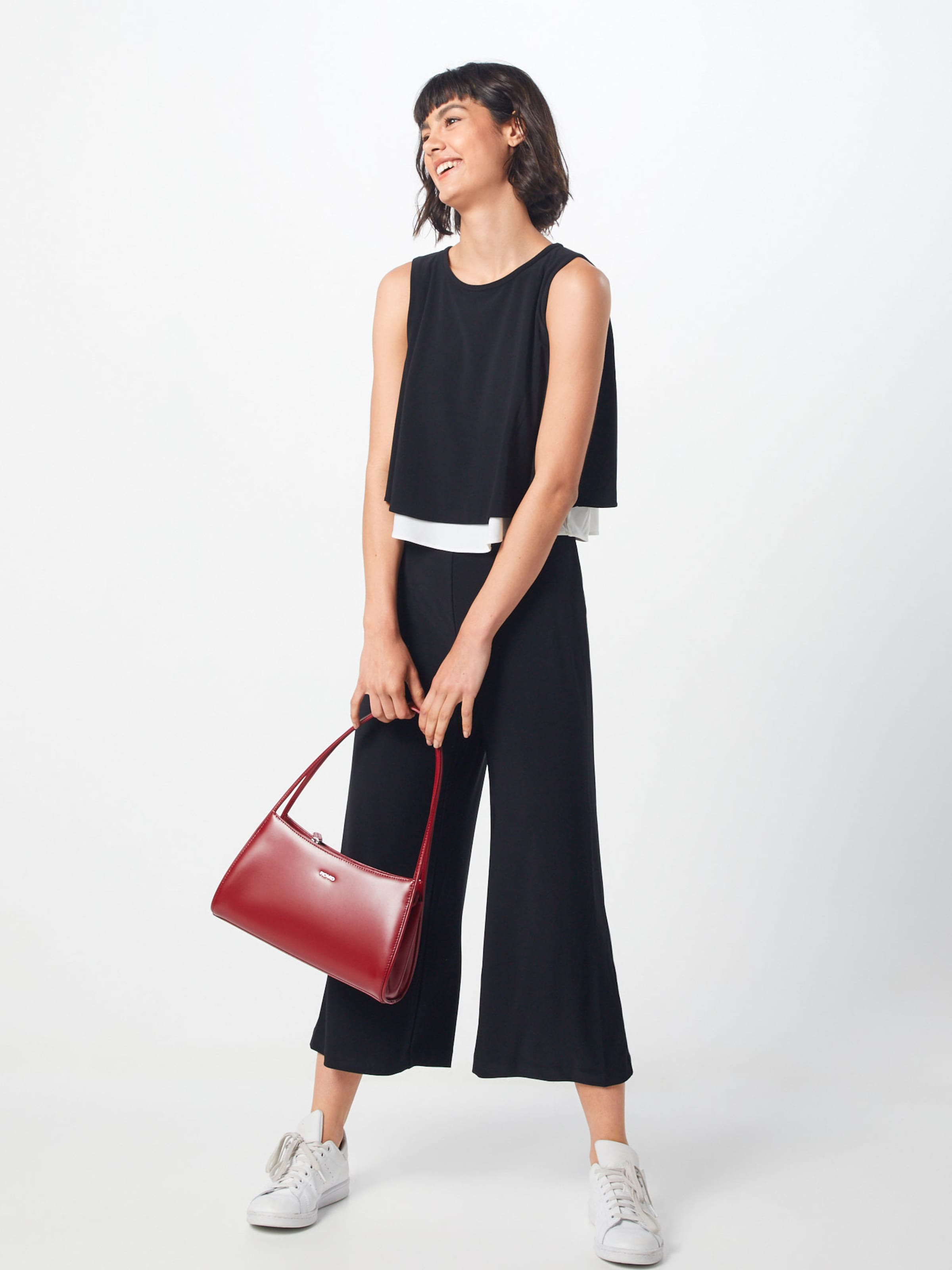 Overall l Dkny SchwarzWeiß Popover Jumpsuit' In 's XOkiuPZ