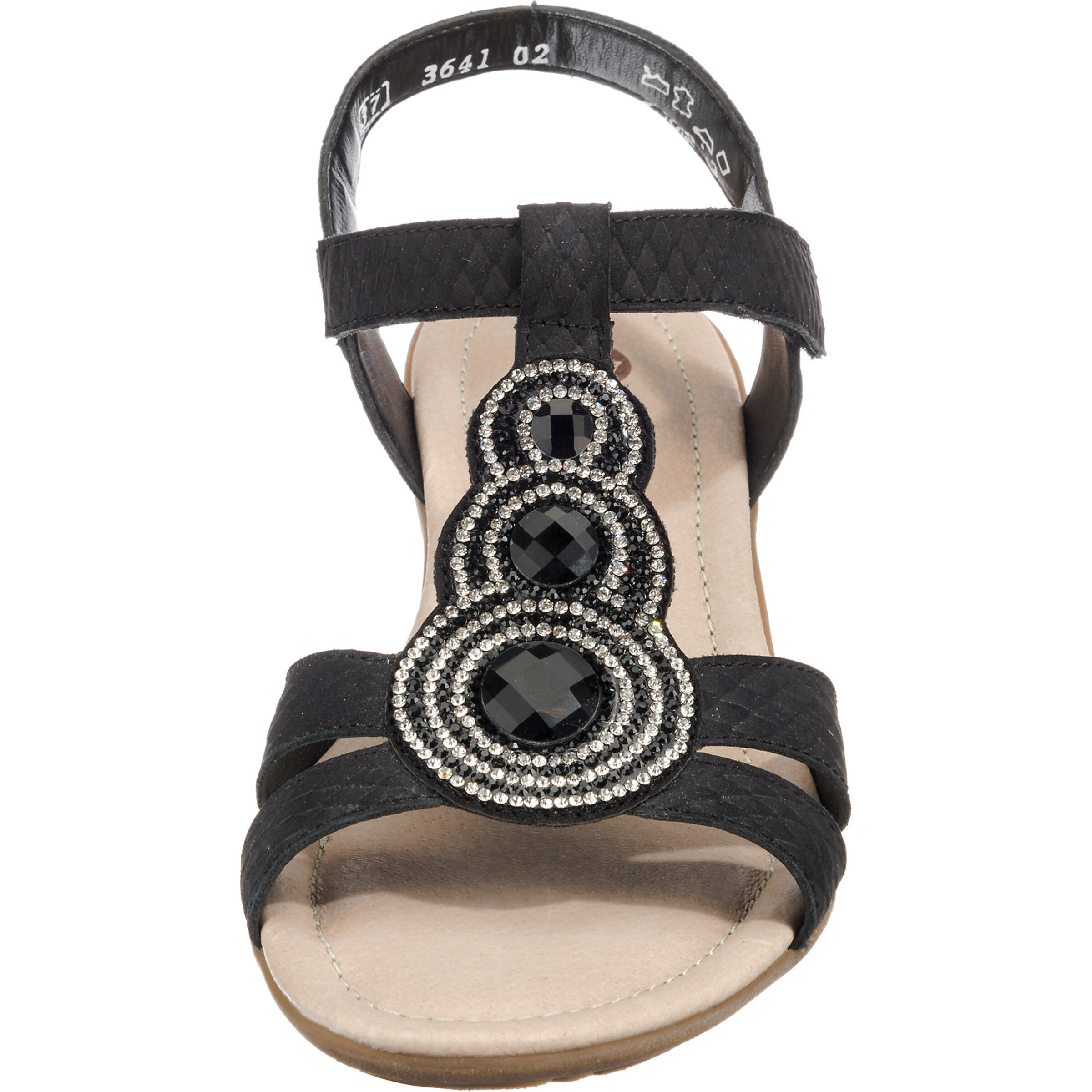 Remonte Remonte In Schwarz 'r3641' 'r3641' Sandale Sandale 4RL35SAjqc