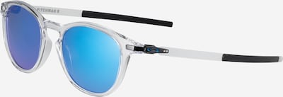 OAKLEY Sportzonnebril 'Pitchman' in de kleur Blauw / Zwart / Transparant, Productweergave