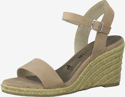 TAMARIS Páskové sandály - béžová, Produkt
