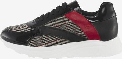 heine Sneaker in rot / schwarz, Produktansicht