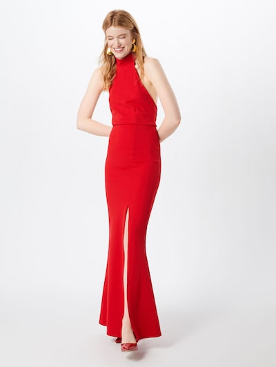Missguided Kleid in rot: Frontalansicht