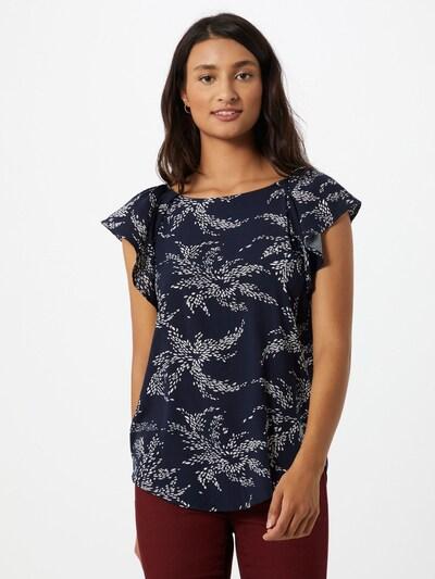 ZABAIONE T-shirt 'Monika' en bleu marine / blanc: Vue de face