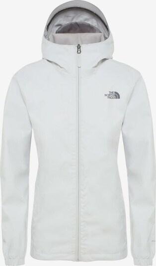 THE NORTH FACE Regenjacke 'Quest' in grau / weiß, Produktansicht