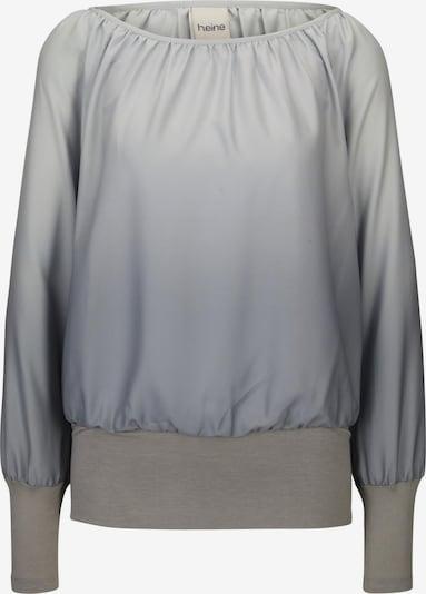 heine Bluse in grau / basaltgrau / hellgrau, Produktansicht