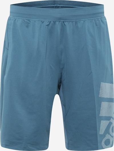 ADIDAS PERFORMANCE Sportbroek in de kleur Smoky blue / Wit, Productweergave
