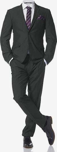BRUNO BANANI Anzug mit Krawatte und Einstecktuch in schwarz, Produktansicht