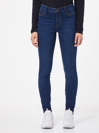 TOM TAILOR DENIM Jeans 'Nela' in de kleur Blauw denim: Vooraanzicht
