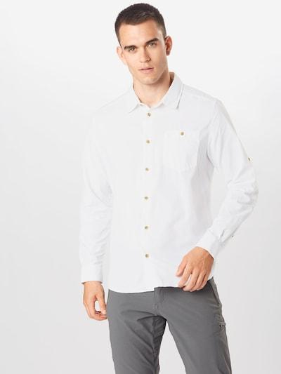 CRAGHOPPERS Funkčná košeľa 'Nuoro' - biela: Pohľad spredu