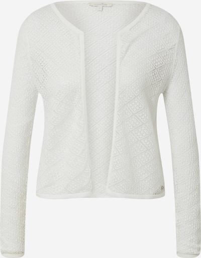 Geacă tricotată TOM TAILOR DENIM pe alb, Vizualizare produs