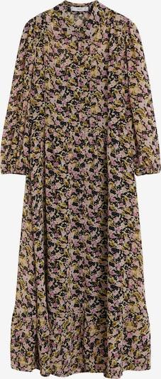 MANGO Robe-chemise 'VESTIDO SHAN' en beige / kaki / noir, Vue avec produit