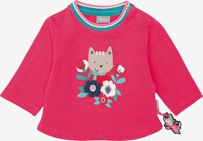 SIGIKID Sweatshirt in hellblau / rosa / neonpink, Produktansicht