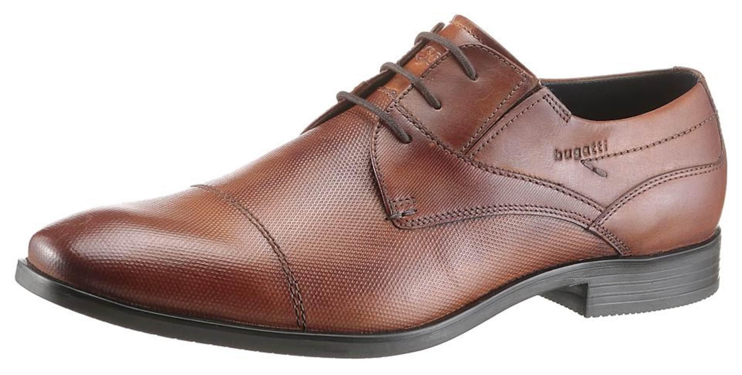 bugatti Schnürer Verschleißfeste billige Schuhe Hohe Qualität