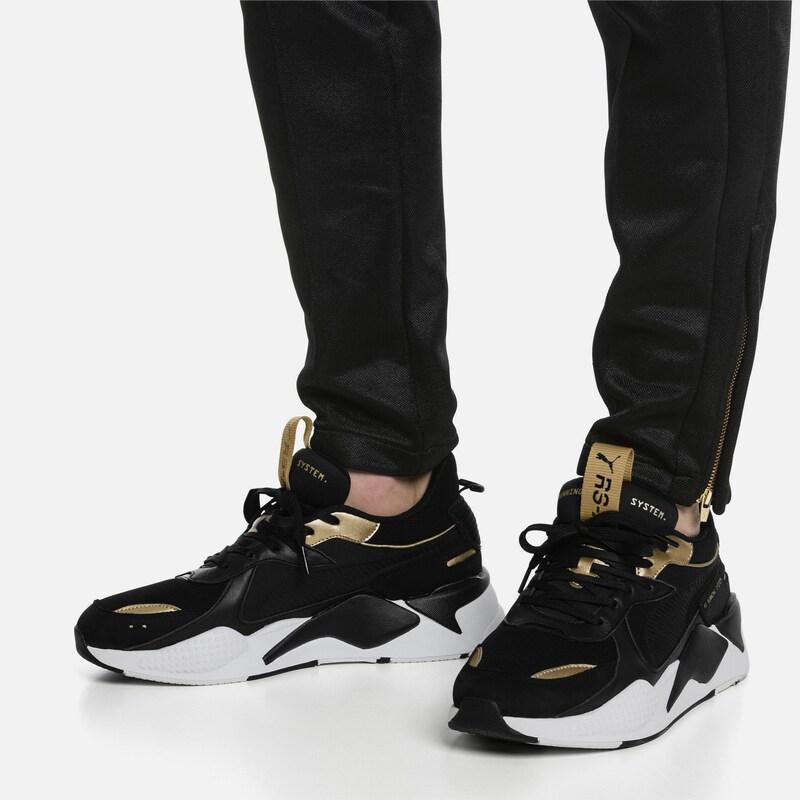 PUMA Sneakers laag Rs X Trophy goud zwart