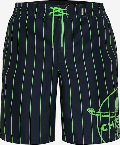 CHIEMSEE Boardshorts en bleu / vert, Vue avec produit